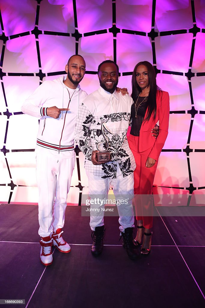 <a gi-track='captionPersonalityLinkClicked' href=/galleries/search?phrase=Swizz+Beatz&family=editorial&specificpeople=567154 ng-click='$event.stopPropagation()'>Swizz Beatz</a>, <a gi-track='captionPersonalityLinkClicked' href=/galleries/search?phrase=Rico+Love&family=editorial&specificpeople=691968 ng-click='$event.stopPropagation()'>Rico Love</a> and Michelle Williams attend 2013 SESAC Pop Music Awards at New York Public Library on May 13, 2013 in New York City.
