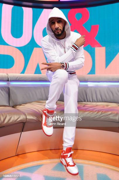 Swizz Beatz visits BET's '106 Park' at BET Studios on May 13 2013 in New York City