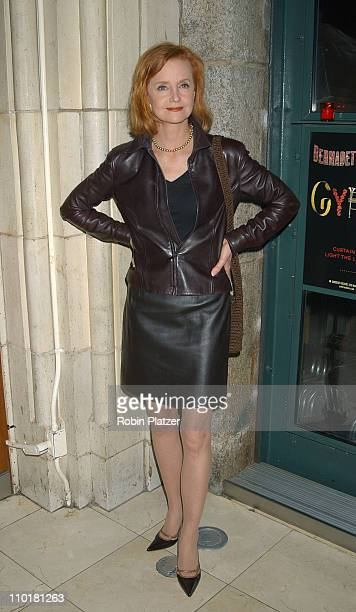 Swoosie Kurtz during 'Gypsy' Opening Night Afterparty May 1 2003 at Gustavino's in New York New York United States