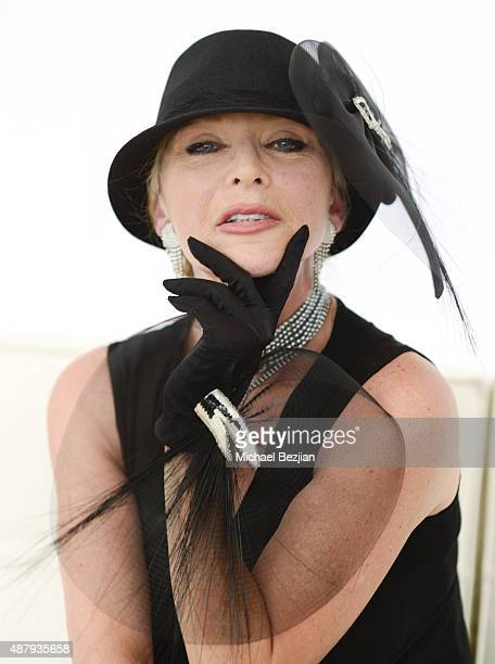Sybil Danning attends the 8th Annual Safety Harbor Kids Polo Classic Fundraiser at Will Rogers State Historic Park on September 12 2015 in Pacific...