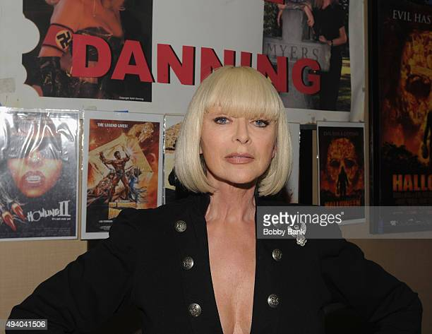 Sybil Danning attends the Chiller Theatre Expo Day 1 at Sheraton Parsippany Hotel on October 23 2015 in Parsippany New Jersey