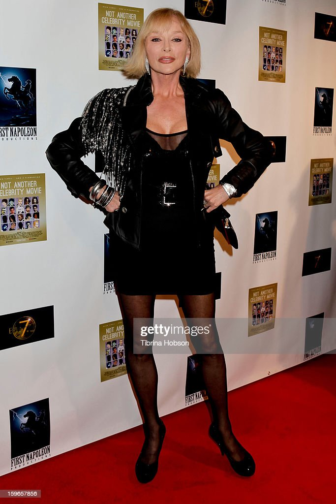 Sybil Danning attends the 'Not Another Celebrity Movie' Los Angeles premiere at Pacific Design Center on January 17, 2013 in West Hollywood, California.