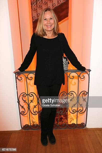 Sybille Beckenbauer during the birthday party for the 10th anniversary of ICON at Nymphenburg Palais No 6 on November 7 2016 in Munich Germany