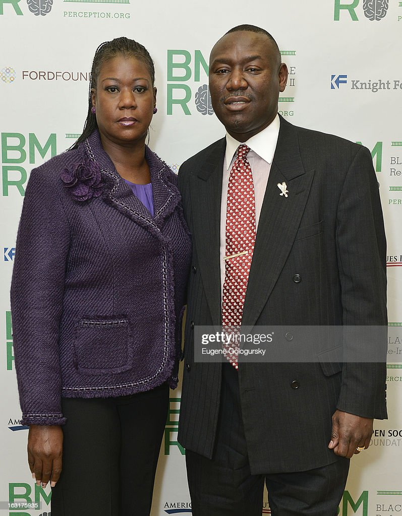 <a gi-track='captionPersonalityLinkClicked' href=/galleries/search?phrase=Sybrina+Fulton&family=editorial&specificpeople=9024062 ng-click='$event.stopPropagation()'>Sybrina Fulton</a> and Benjamin Crump attend Black Male: Re-Imagined II at Ford Foundation on March 5, 2013 in New York City.