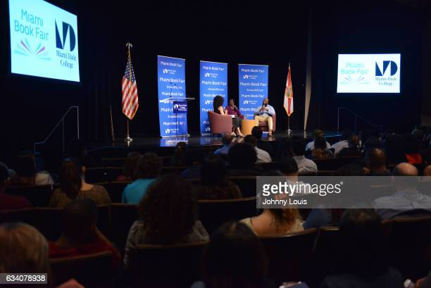Sybrina Fulton and Tracy Martin in conversation with Traci Cloyd during the signing of their book 'Rest In Power The Enduring Life Of Trayvon Martin'...