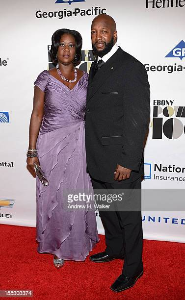 Sybrina Fulton and Tracy Martin parents of Trayvon Martin attend the Ebony Power 100 Gala at Jazz at Lincoln Center on November 2 2012 in New York...