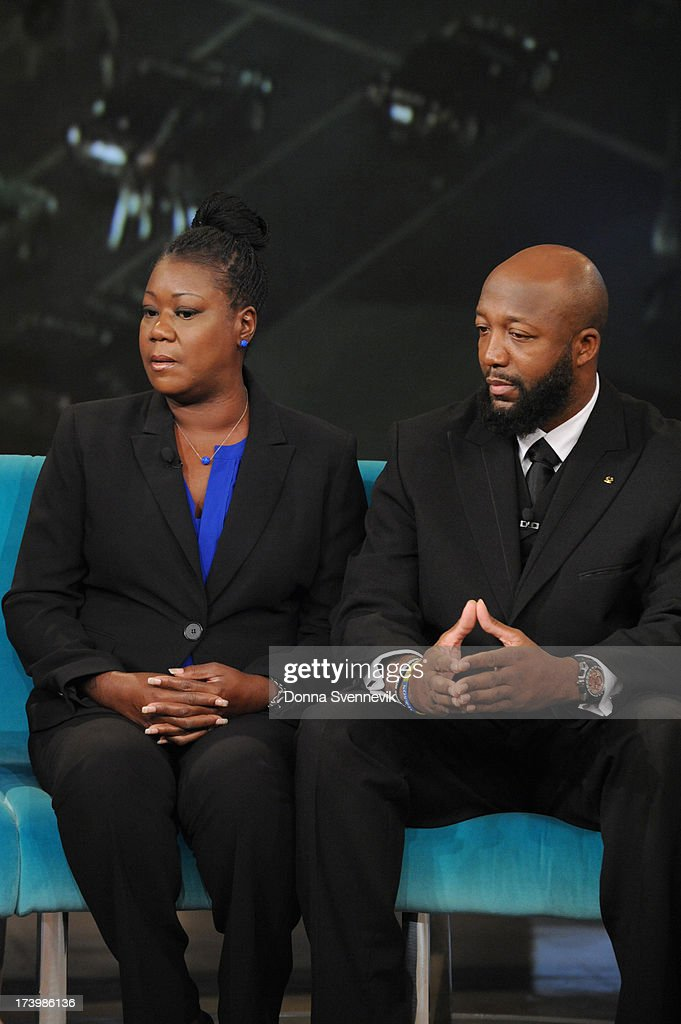 THE VIEW - <a gi-track='captionPersonalityLinkClicked' href=/galleries/search?phrase=Sybrina+Fulton&family=editorial&specificpeople=9024062 ng-click='$event.stopPropagation()'>Sybrina Fulton</a> and <a gi-track='captionPersonalityLinkClicked' href=/galleries/search?phrase=Tracy+Martin+-+Father+of+Trayvon+Martin&family=editorial&specificpeople=9075765 ng-click='$event.stopPropagation()'>Tracy Martin</a>, the parents of Trayvon Martin are joined by their attorney, Benjamin Crump today, Thursday, July 18, 2013 on ABC's 'The View.' 'The View' airs Monday-Friday (11:00 am-12:00 pm, ET) on the ABC Television Network. MARTIN