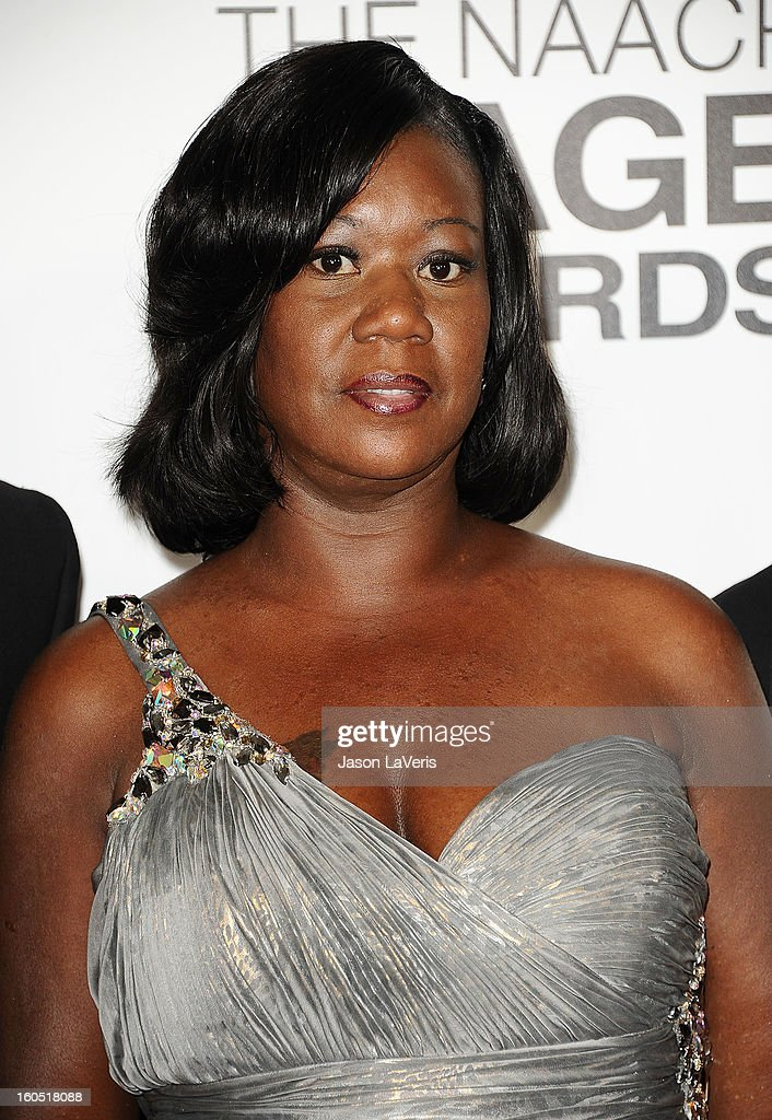 <a gi-track='captionPersonalityLinkClicked' href=/galleries/search?phrase=Sybrina+Fulton&family=editorial&specificpeople=9024062 ng-click='$event.stopPropagation()'>Sybrina Fulton</a> attends the 44th NAACP Image Awards at The Shrine Auditorium on February 1, 2013 in Los Angeles, California.