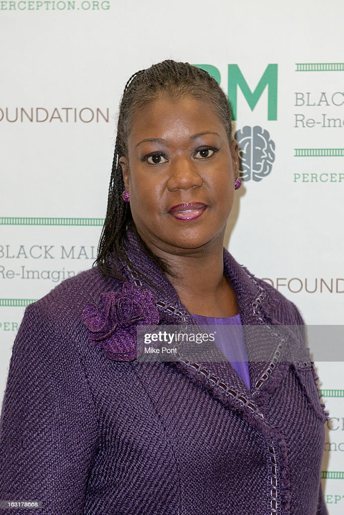 <a gi-track='captionPersonalityLinkClicked' href=/galleries/search?phrase=Sybrina+Fulton&family=editorial&specificpeople=9024062 ng-click='$event.stopPropagation()'>Sybrina Fulton</a>, mother of Trayvon Martin attends Black Male: Re-Imagined II at Ford Foundation on March 5, 2013 in New York City.