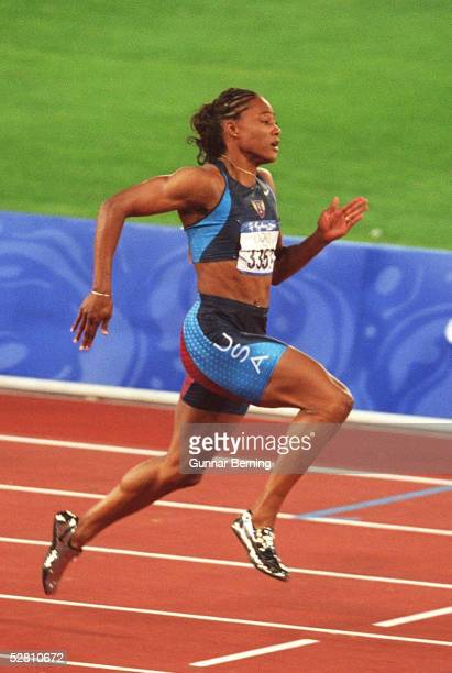 SYDNEY 2000 Sydney 100m/FINALE /FRAUEN Marion JONES/USA GOLD