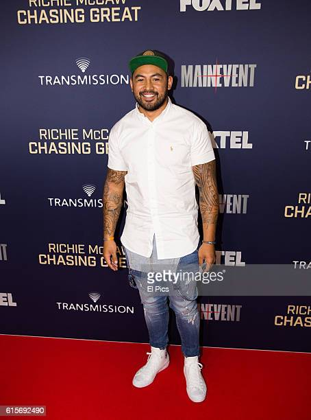 Krisnan Inu attends the premiere of the Richie McCaw film 'Chasing Great' at Event Cinemas on October 18 2016 in Sydney Australia