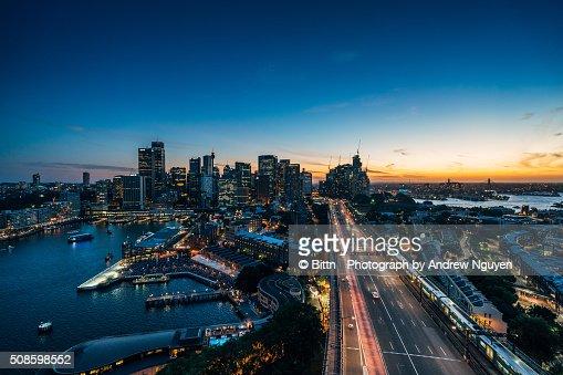 Sydney - Cahill Expressway : Stock Photo