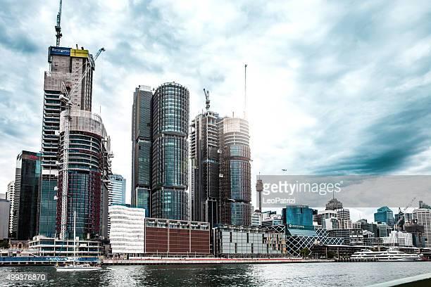 Sydney CBD and harbor