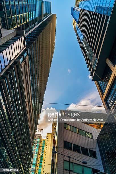 Sydney CBD Buildings in world square