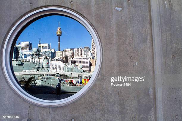 Sydney CBD reflection