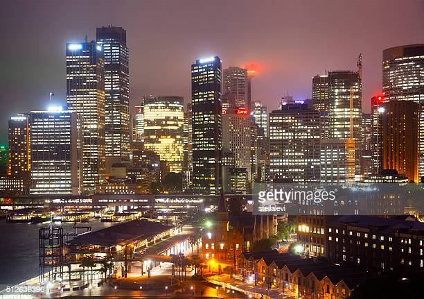 Sydney Cityscape at night