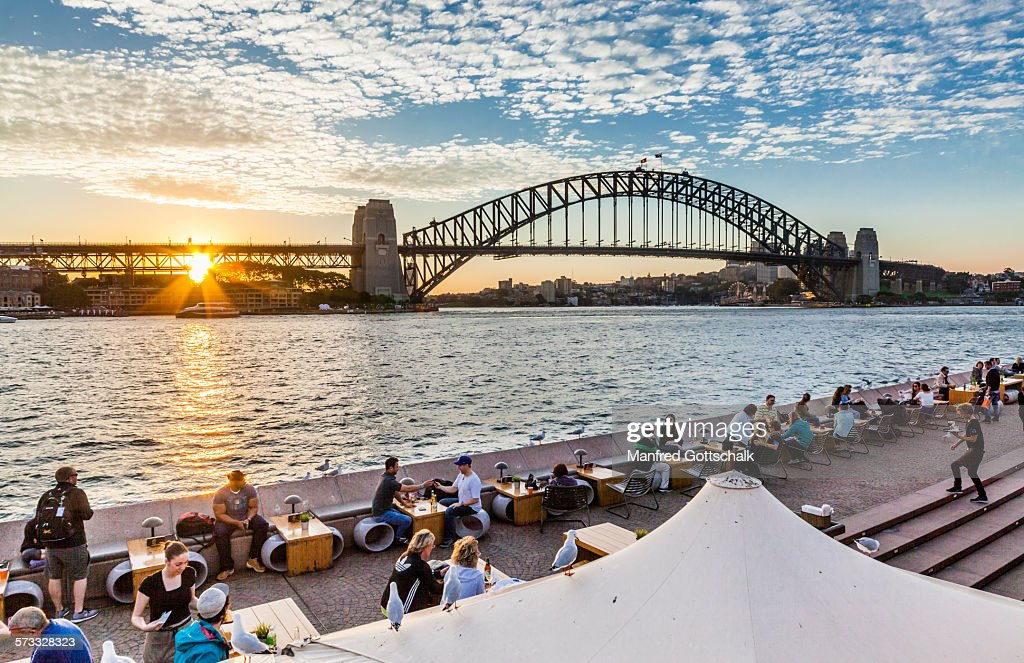 Sydney Cove sunset