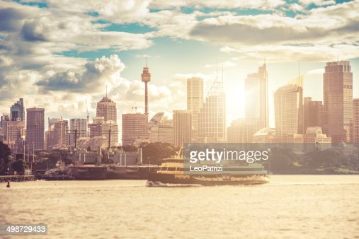 Sydney downtown skyline