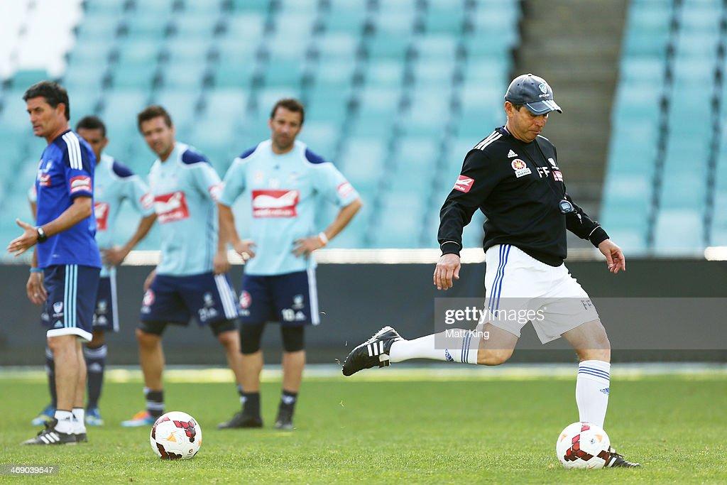 Sydney FC Training Session