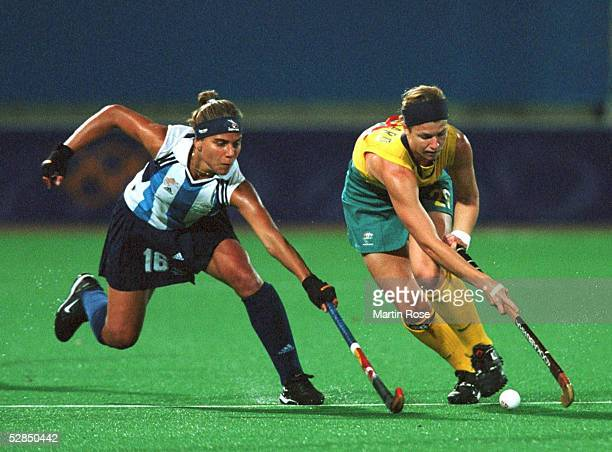 SYDNEY 2000 Sydney FRAUEN/FINALE/AUSTRALIEN ARGENTINIEN 31 C ROGNONI/ARG R GARARD/AUS