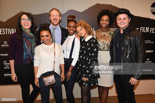 Sydney Freeland Danielle Nicolet David Sullivan Rachel Crow Ashleigh Murray Sasheer Zamata and Arturo Castro attend the 'Deidra Laney Rob A Train'...