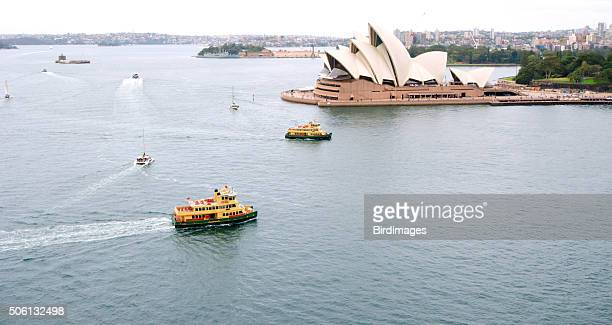 Sydney Harbor View from Above, Australia