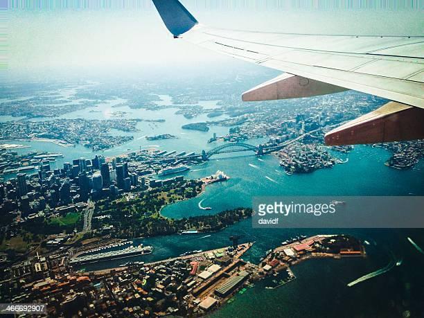 Veduta aerea porto di Sydney
