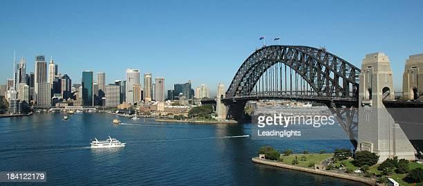 Sydney Harbour Bridge & CBD, Sunny Day