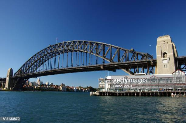 Sydney Harbour Bridge, Dawes Point, Sydney, New South Wales, Australia