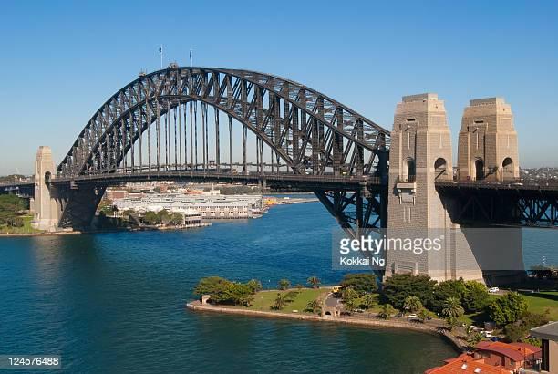 Sydney Harbour Bridge from Kirribilli