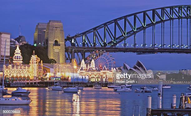 Sydney Harbour Bridge & Luna Park