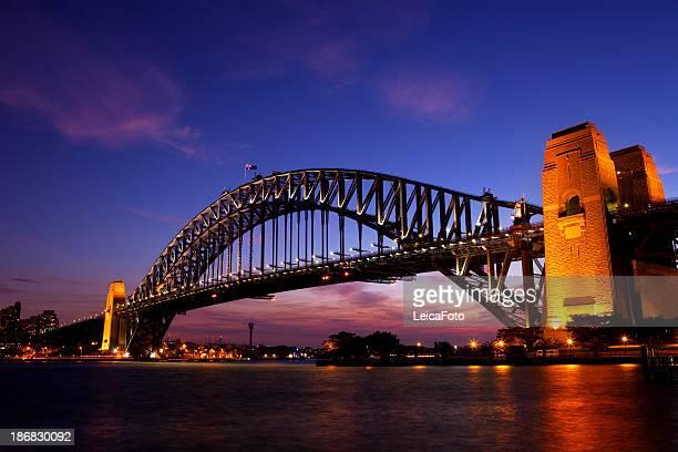 Sydney Harbour Bridge Sunset