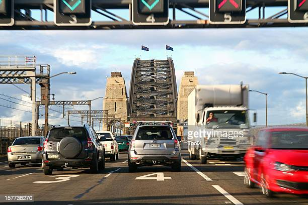 Sydney Harbour bridge's traffic