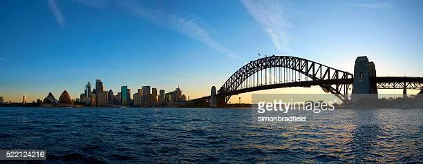 Sydney Harbour Evening Panoramic