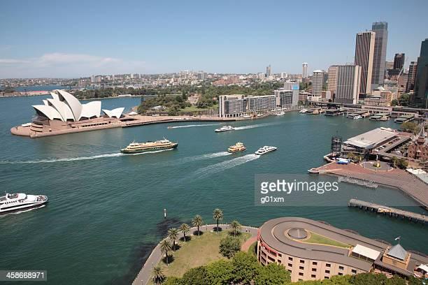 Sydney Harbour opera house