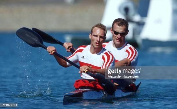 SPIELE 2000 Sydney KANURENNSPORT/KAJAK/K2/1000m/MAENNER Andreas IHLE Olaf WINTER/GER