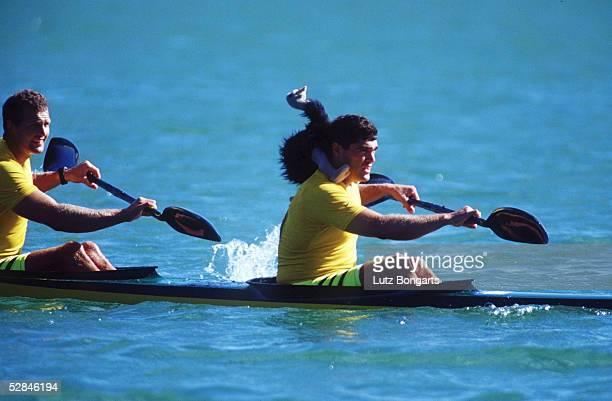 SPIELE 2000 Sydney KANURENNSPORT/KAJAK/K2/500m/MAENNER Daniel COLLINS Andrew TRIM/AUS BRONZE