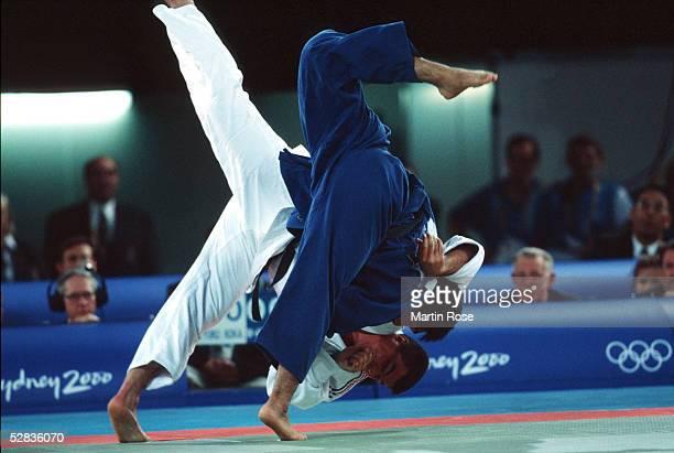 SYDNEY 2000 Sydney MAENNER/ueber 100 kg David DOUILLET/FRA GOLD Shinichi SHINOHARA of Japan SILBER