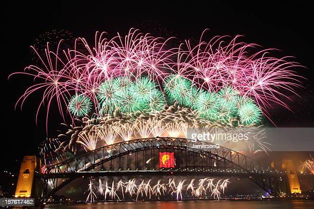 Sydney New Year Fireworks 2009-2010