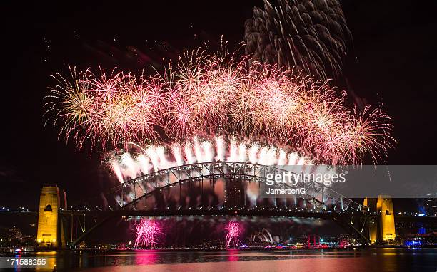 Sydney New Year Fireworks 2013