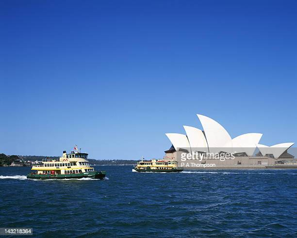 Sydney Opera House and Ferry, New South Wales, Australia