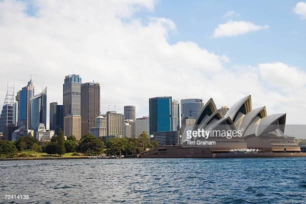 Sydney Opera House and skyline Australia