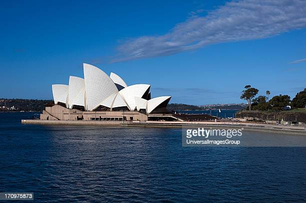Sydney Opera House and Sydney Harbour Sydney New South Wales NSW Australia