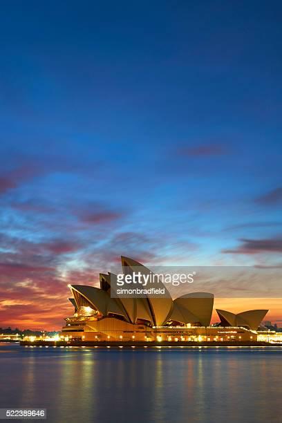 Sydney Opera House At Dawn Vertical