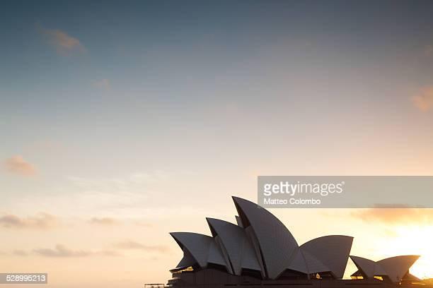 Sydney Opera House at sunrise, Australia