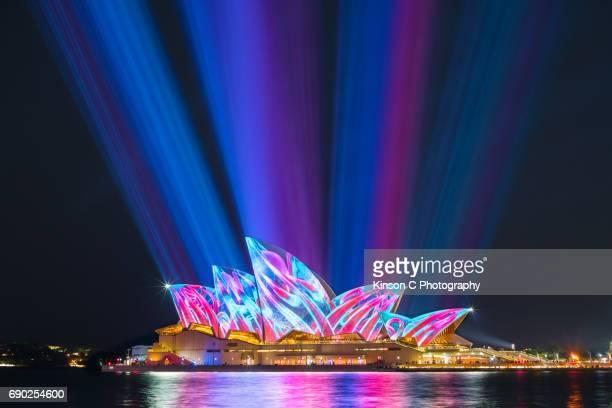 Sydney Opera House at Vivid 2017