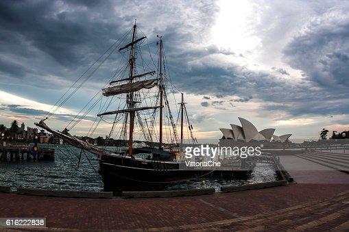 シドニーオペラハウス。オーストラリアます。 : ストックフォト