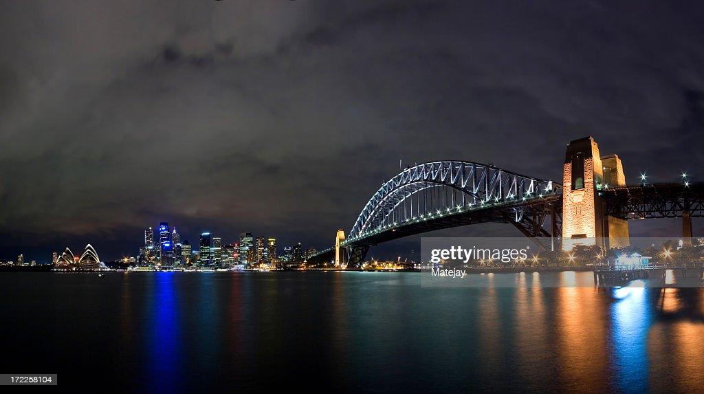 'Sydney Opera House, Harbour Bridge and the CBD'