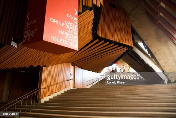 Sydney Opera House interior.