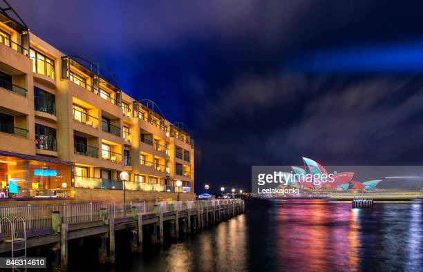 Sydney Opera house on Vivid Sydney 2017